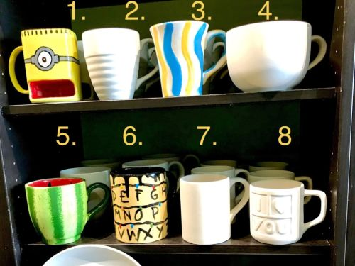 TO GO - Home Kit 3 - Mugs, cereal bowls and Dishes