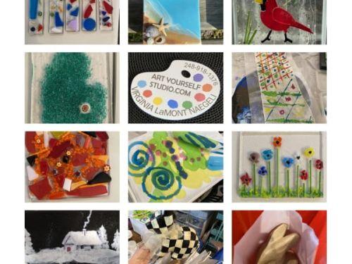 At-Home Kits @ Art Yourself Studio