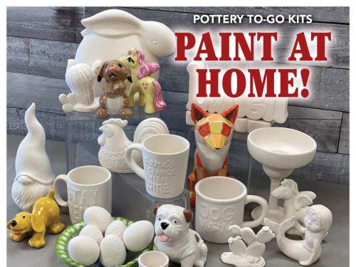 Art Therapy To-Go Ceramic Kits