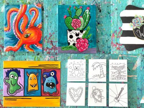 Paint & Bubbles HOME Studio {Art Kits}