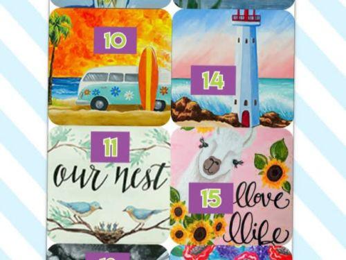 Art-to-GOGH Take Home Kits #9-16