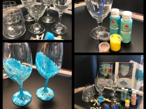 At-Home Kit - Glass Painting
