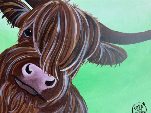 Highland Cow Paint @ Home Experience
