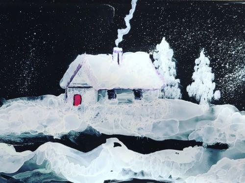 Online-White/Black Coasters @ Art Yourself Studio Via Zoom