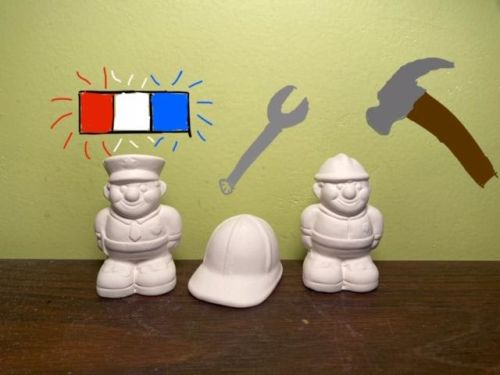 Worker Trio Acrylic At-Home Kit