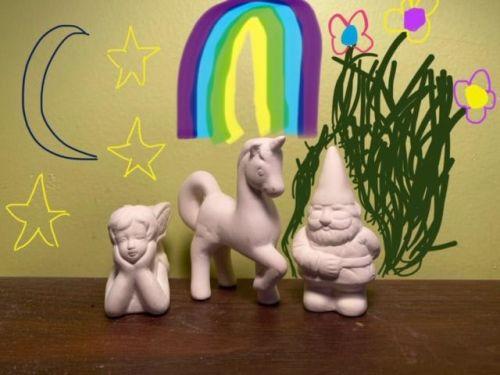 Whimsical Fun Acrylic Trio At-Home Kit