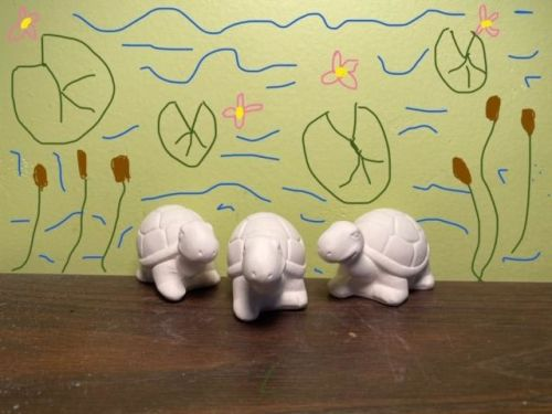 Turtle Trio Acrylic At-Home Kit