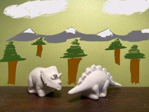 Dino Duo Acrylic At-Home Kit
