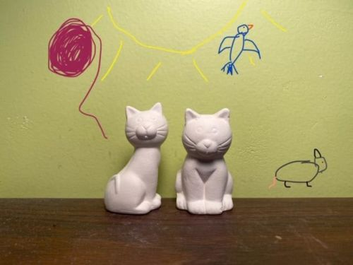 Cuddly Kitty Duo Acrylic At-Home Kit