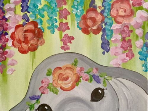 Online Class - NEW! Baby Elephant with SARAH