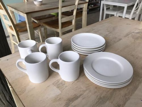 Mugs and Salad Plates At-Home Glaze/to be Kiln fired Kit