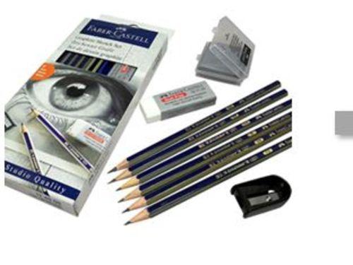At-Home Kit: Pencil Sketching Set & Drawing Paper