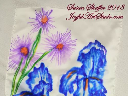 **Online** Sharpie Silk Scarf Painting