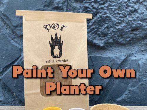 Paint Your Own Planter Kit