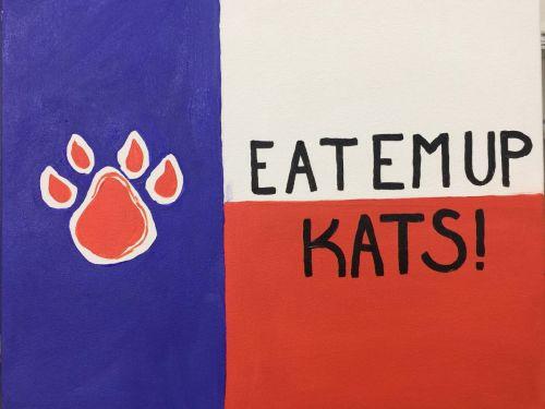 Eat 'em Up Kats Paint @ Home Experience