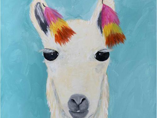 Love My Llama Paint @ Home Experience