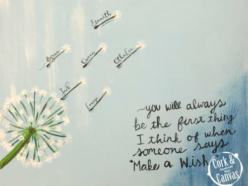 Make A Wish Paint @ Home Experience