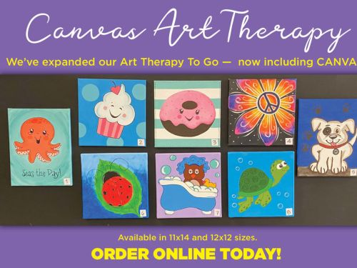 Art Therapy To-Go Canvas Kits