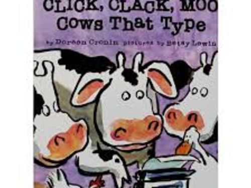 Online Story Time and Art - Click Clack Moo - Cows That Type
