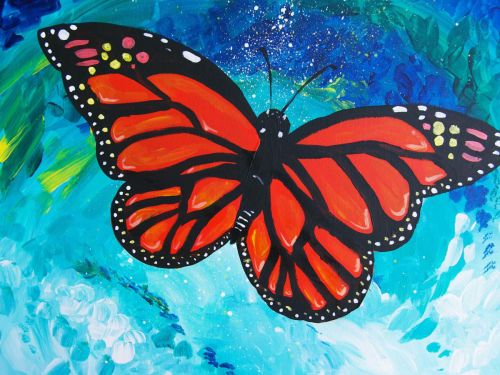 At-Home Experience - Colorful Butterfly
