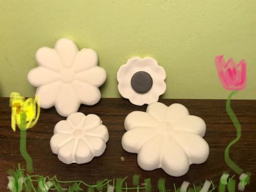 Flower Magnets Acrylic At-Home Kit
