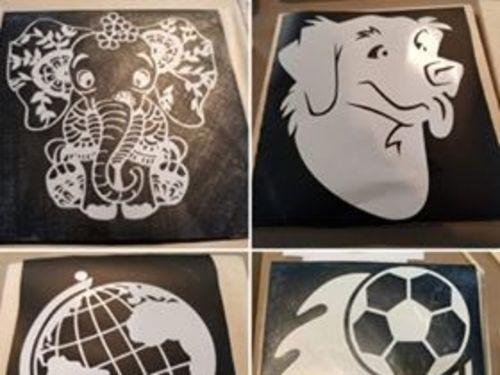 12x12 Stencil Create at Home Kit