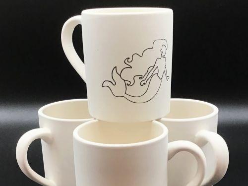 Mermaid & Regular Mug Set Package