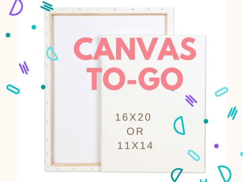 At-Home Canvas painting art Kit