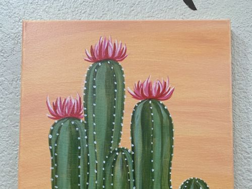 At-Home Experience -- Desert Cacti