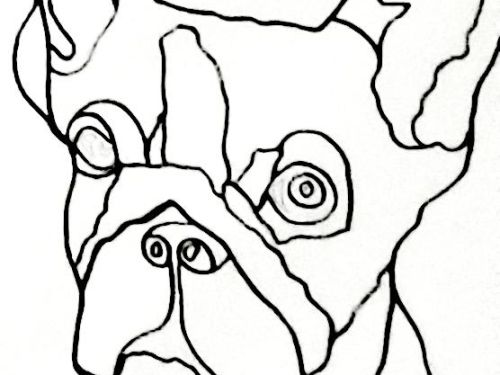 Creativity Kit - French Bulldog - TO GO