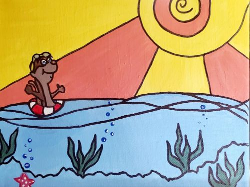 Creativity Kit - Ollie the Otter - TO GO