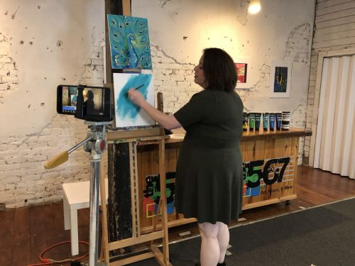 Online Art Classes at The 567 Center