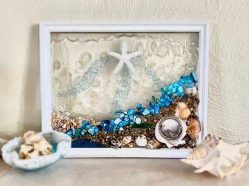 Seashell Resin At Home Kit