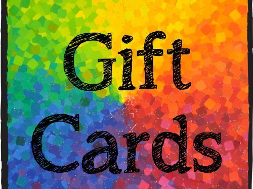 Gift Card - Print At Home - Kids