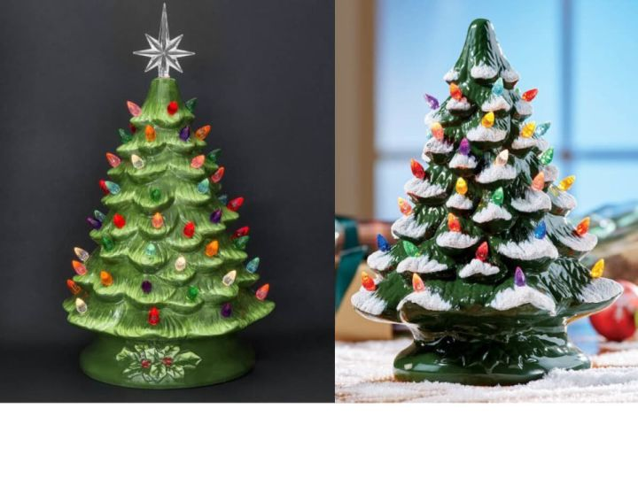ceramic christmas tree painting - Paint Your Own Ceramic Christmas Decorations