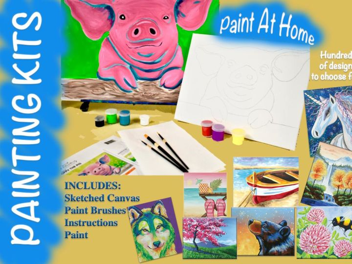 Paint At Home Kit