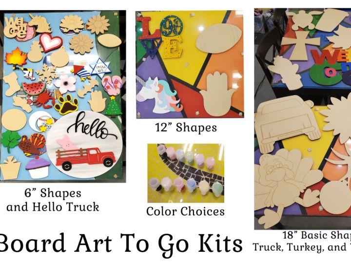 Board Art Shapes Kits
