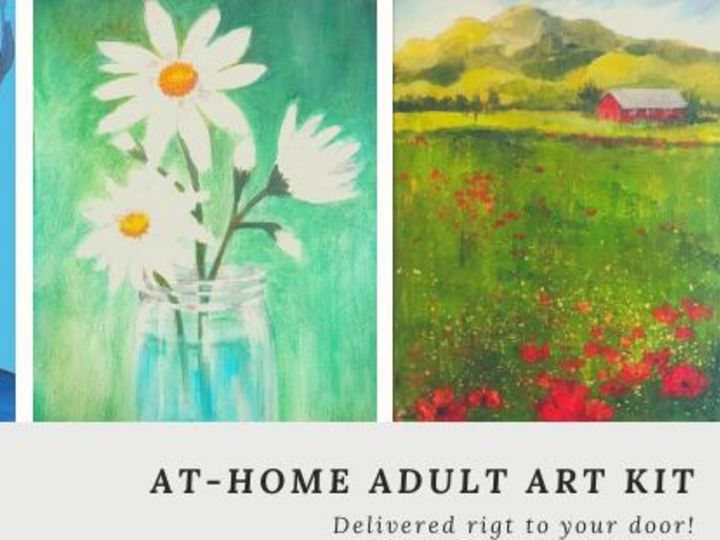 At-Home Adult Art Kit