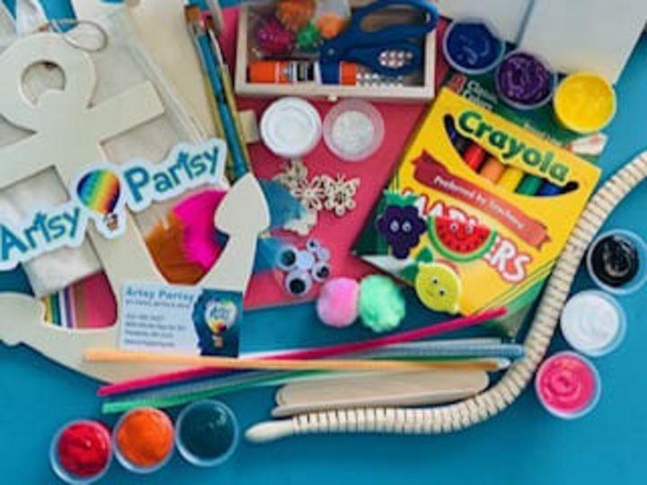 Artsy Partsy Art Kits