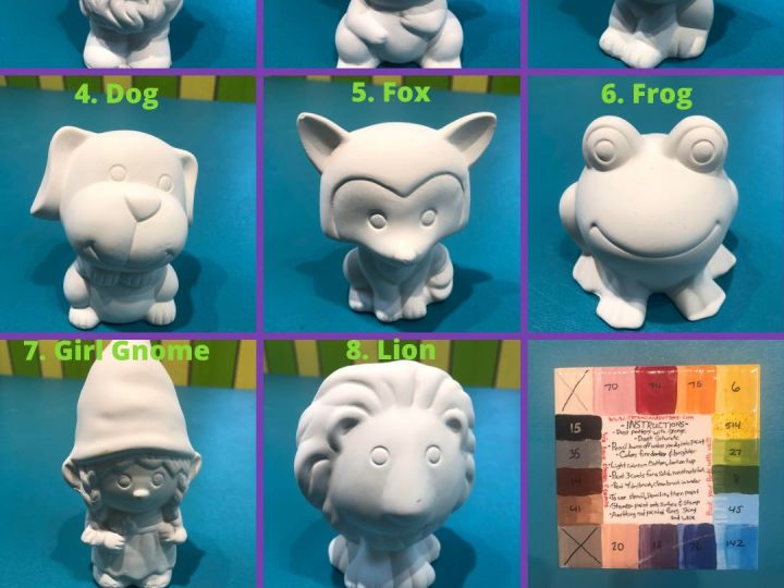 Pottery-to-go Figurines Part 1