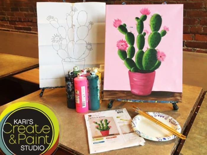Canvas Take home Kits!