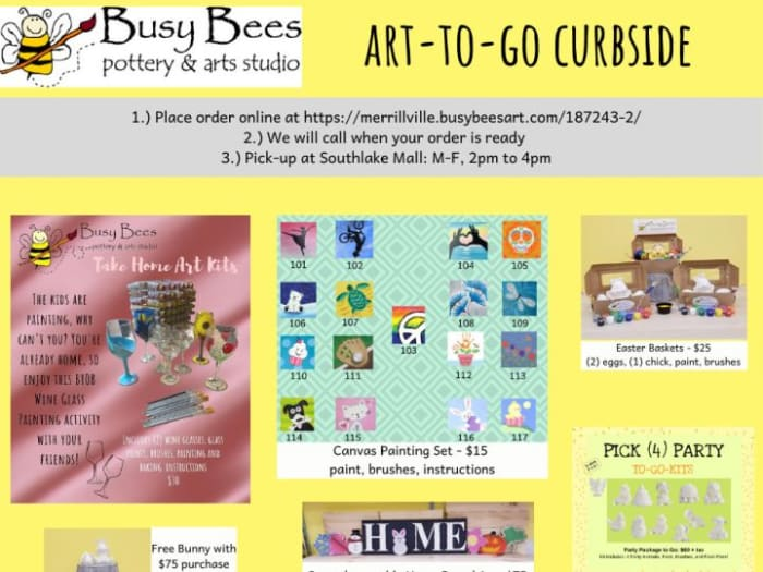 Curbside Pick-Up: Art-To-Go Kits