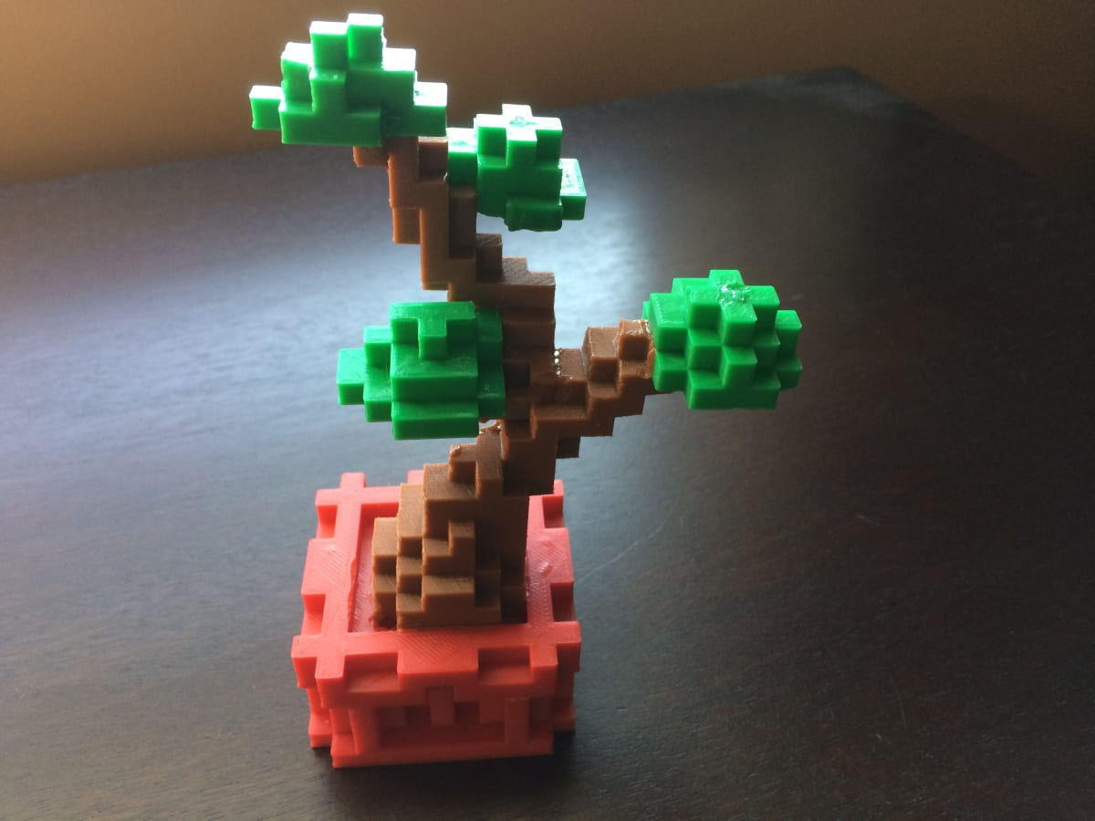 Minecraft 3D Printing (Ages 7-11) - Tuesdays (Spring)
