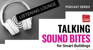 Talking Sound Bites for Smart Buildings
