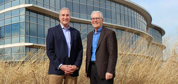 Owens Corning CEO Brian Chambers and Chief Sustainability Officer Frank O'Brien Bernini