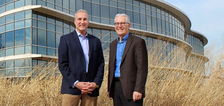 CEO Brian Chambers and Chief Sustainability Officer Frank O'Brien Bernini