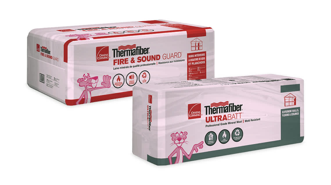 product shot of Thermafiber® Residential Mineral Insulation