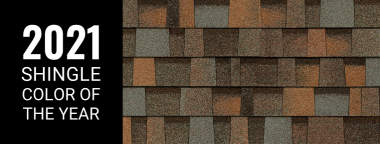 Aged Copper is the 2021 Shingle Color of the Year