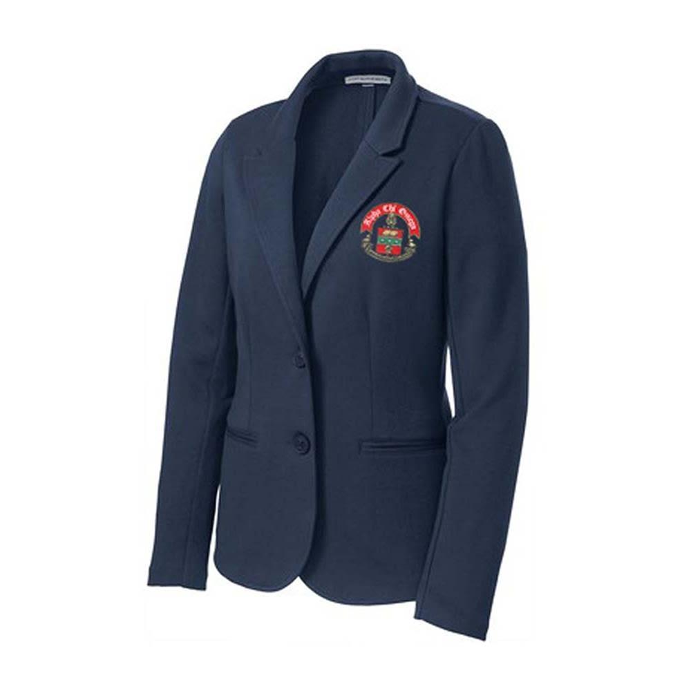 Alpha Chi Omega Crest Blazer   Alvernia University Greek Apparel