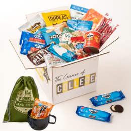 Welcome Package, Move-In Mug, College 101, Student Advantage Membership